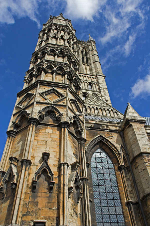 Torres da catedral imagem de stock royalty free