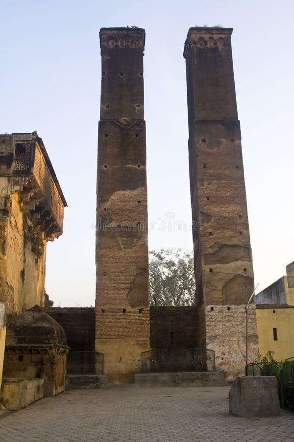 Torres de Badgir Sawan Bhadon fotografia de stock royalty free