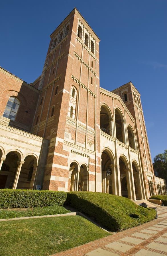 Torres de Bell del campus fotos de archivo
