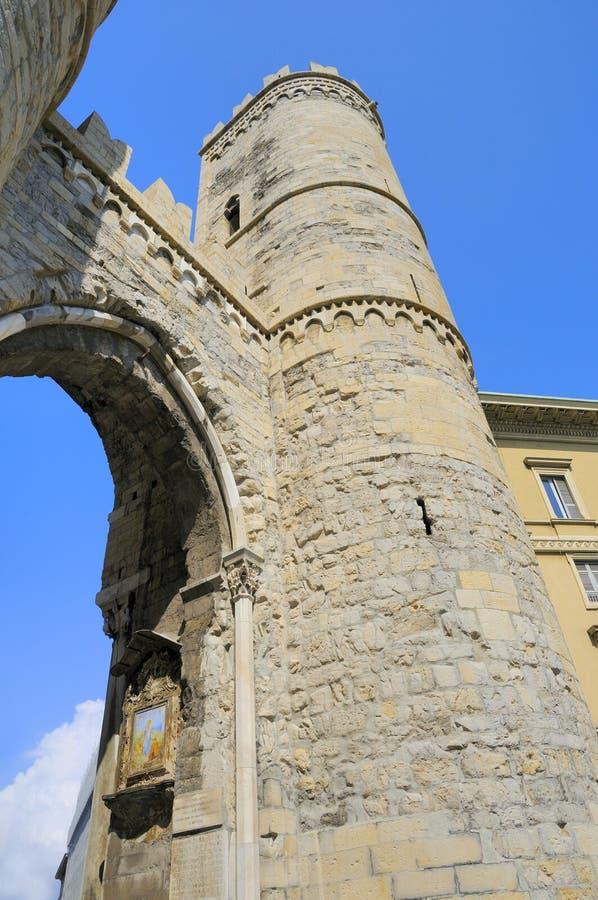 Torres de Génova fotos de archivo libres de regalías