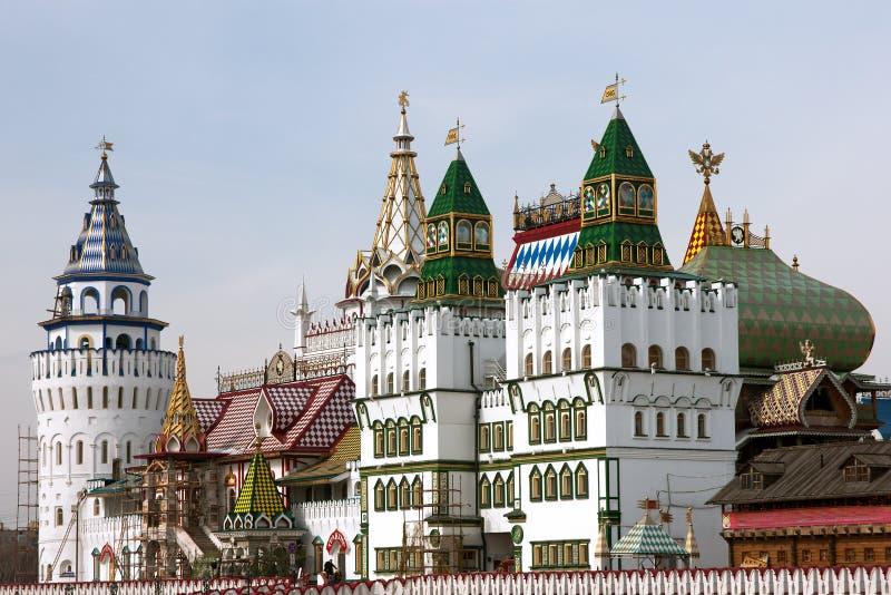 Torres de Kremlin fotografia de stock