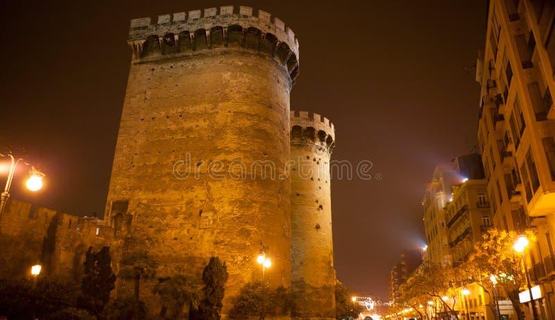 Torres de Kvart Quarte i Valencia torn royaltyfri bild
