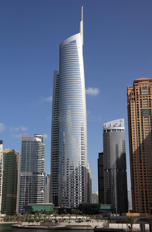 Torres de los lagos Jumeirah, Dubai imagen de archivo