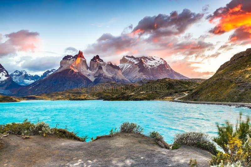 torres de patagonia du Chili del paine photographie stock