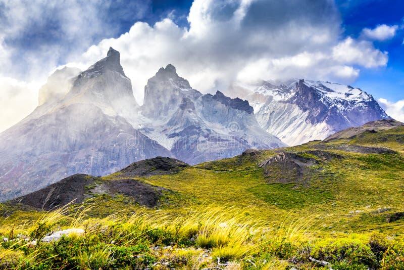 torres de patagonia du Chili del paine photo stock
