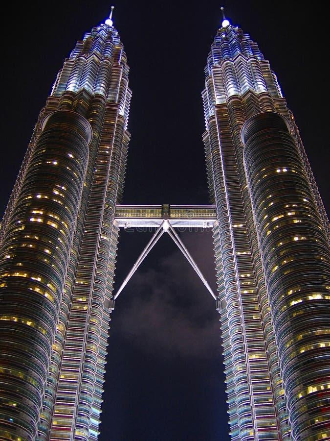 Torres de Petronas foto de archivo libre de regalías