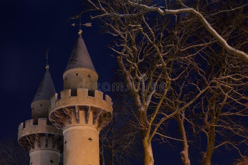 Torres de Powis em Aberdeen velho foto de stock royalty free