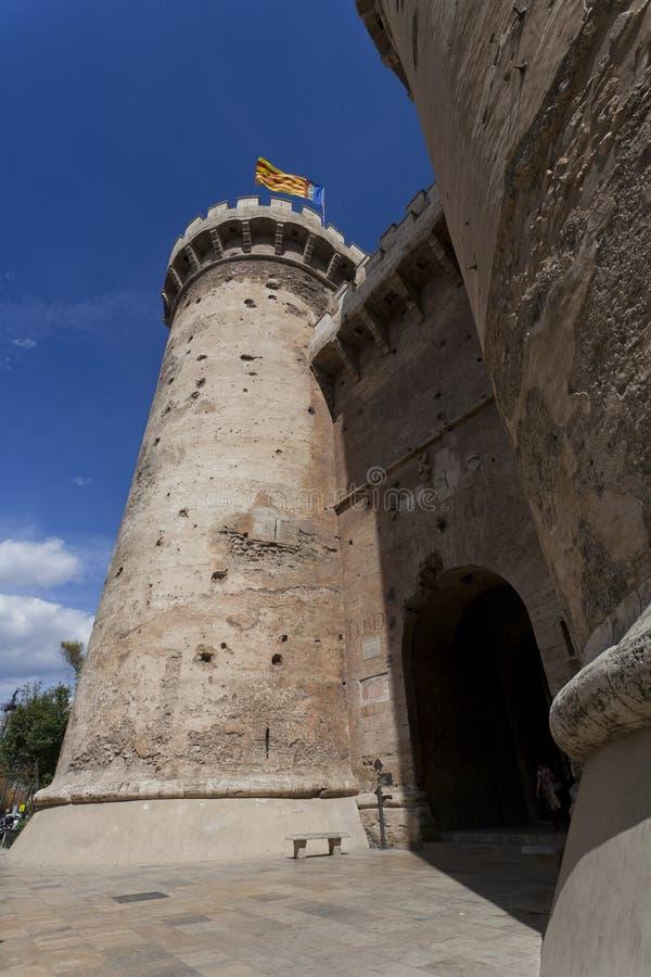 Torres de Quart, Βαλένθια στοκ εικόνες με δικαίωμα ελεύθερης χρήσης
