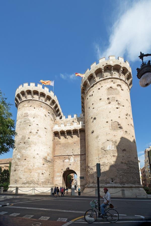 Torres de Quart Quart πύργοι στη Βαλένθια στοκ φωτογραφία με δικαίωμα ελεύθερης χρήσης
