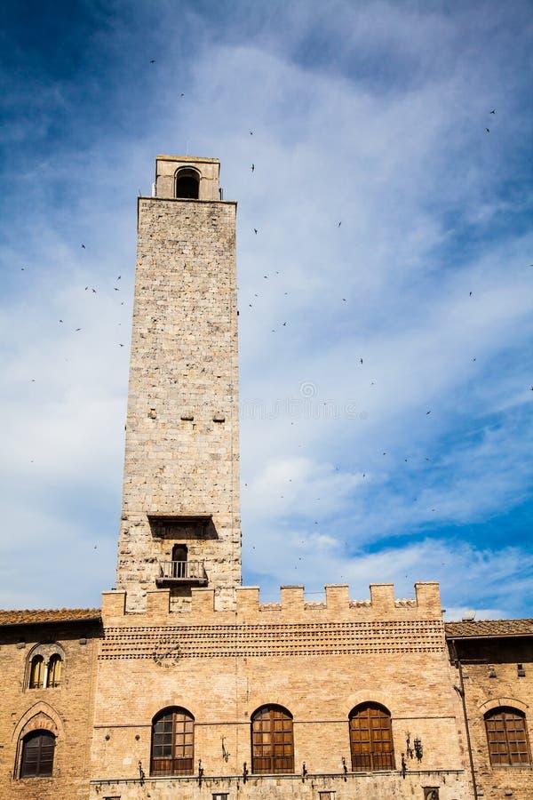 Torres de San Gimignano fotos de stock