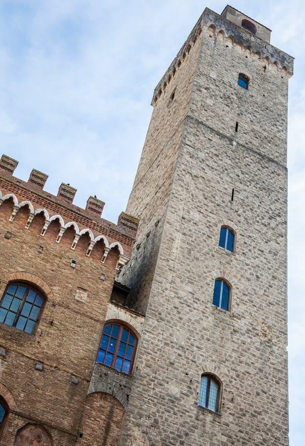 Torres de San Gimignano imagem de stock