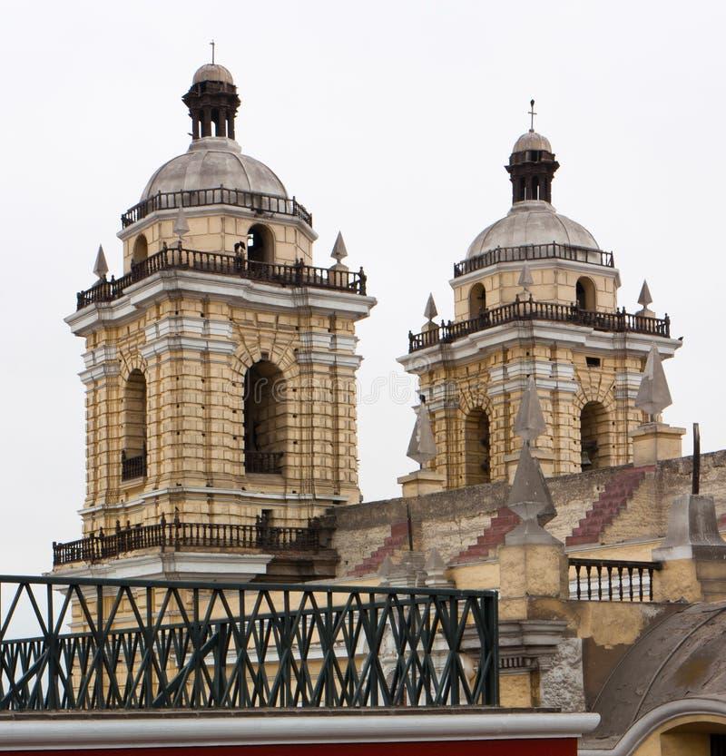 Download Torres De Iglesia De San Francisco Em Lima, Peru Imagem de Stock - Imagem de igreja, ornate: 29849187