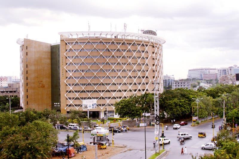 Torres del Cyber, Hyderabad foto de archivo libre de regalías