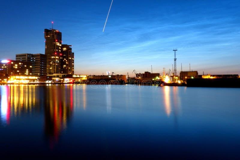 Torres del mar en Gdynia fotos de archivo