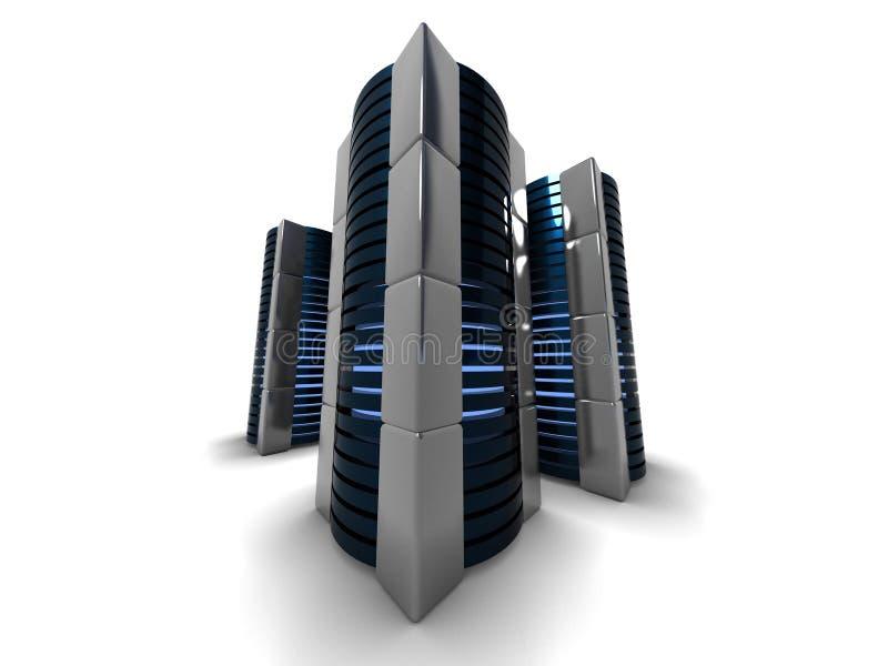 Torres del ordenador libre illustration
