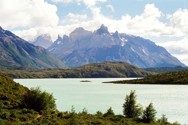 Torres del Paine immagini stock