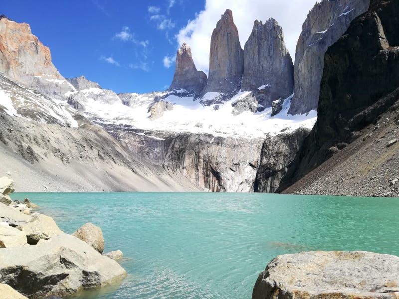 Torres Del Paine fotos de stock