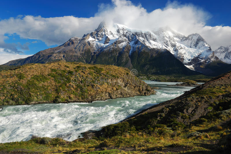 Torres del Paine. National Park, Chile, South America stock photos