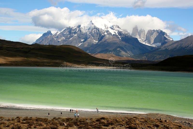 Torres del Paine photo stock
