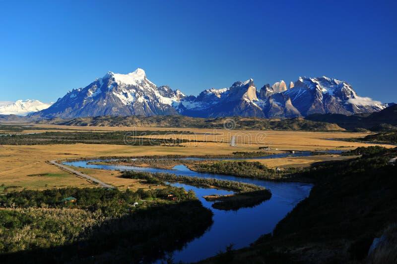 Torres Del Paine foto de stock royalty free