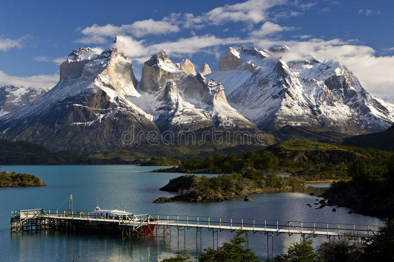 Torres del Paine images libres de droits