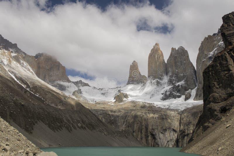 Torres Del Paine images libres de droits