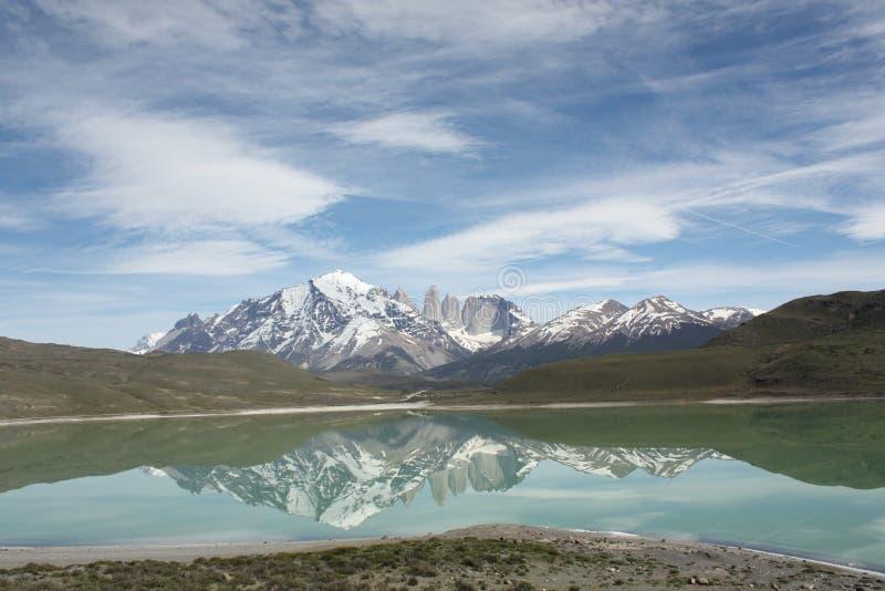 Torres Del Paine, Chile lizenzfreie stockbilder