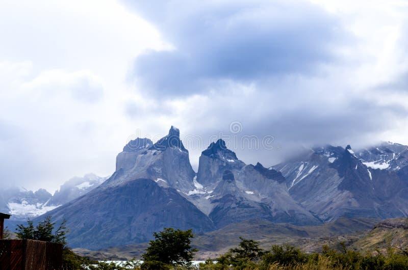Torres Del Paine Chile park narodowy - Patagonia - zdjęcia royalty free