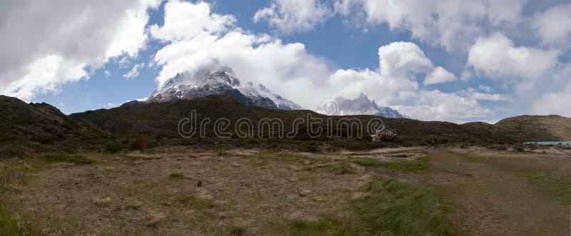 Torres del paine stock afbeelding