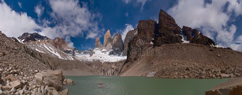 Torres del paine royalty-vrije stock foto's