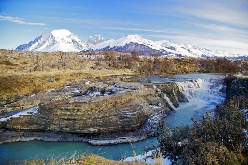 Torres del Paine, Chili photo stock