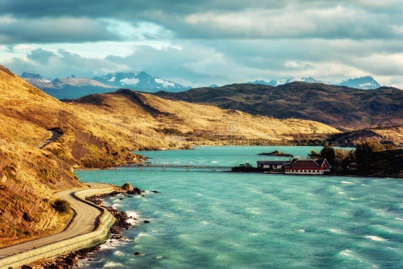 Torres del Paine Cile fotografia stock