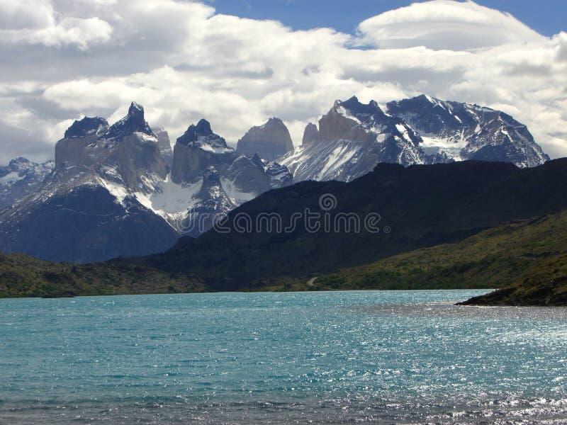 Torres Del Paine National Park royalty-vrije stock foto