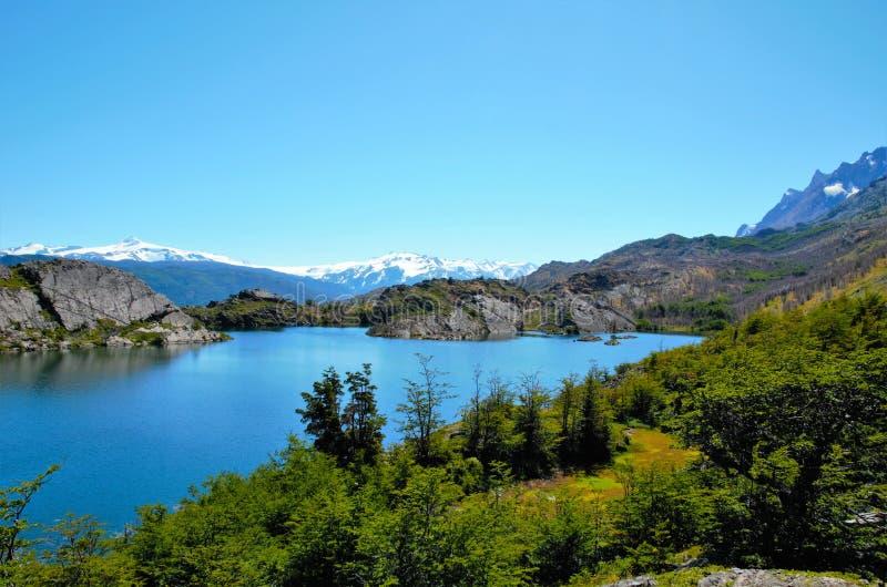 Torres del Paine National Park W-Trek royalty free stock image