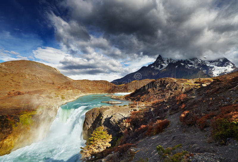 Torres del Paine, o Chile foto de stock royalty free