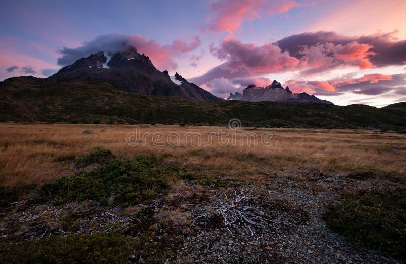 Torres Del Paine fotografía de archivo
