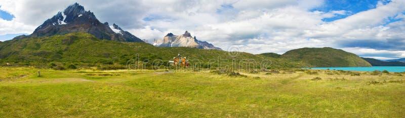 Torres Del Paine Paisagem imagem de stock