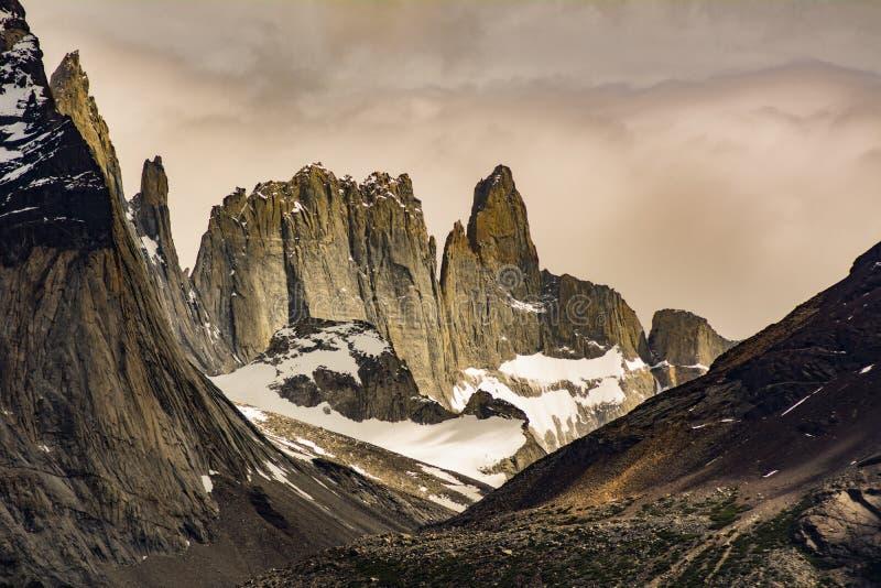 Torres Del Paine park narodowy, Chilijski Patagonia zdjęcie royalty free