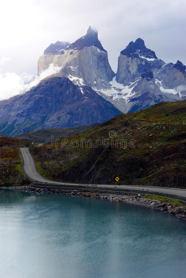 Torres Del Paine park narodowy, Patagonia, Chile zdjęcie stock