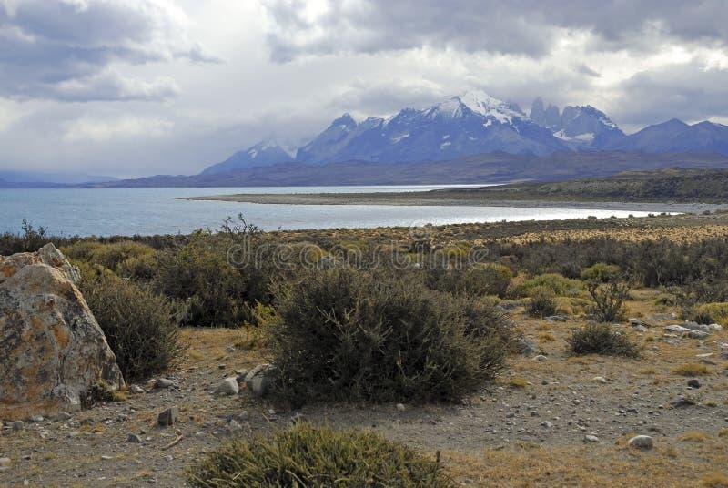 Torres Del Paine, Patagonia del sud, Cile immagine stock