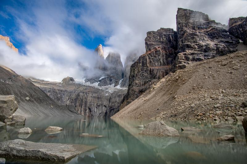 Torres del paine Towers photo stock