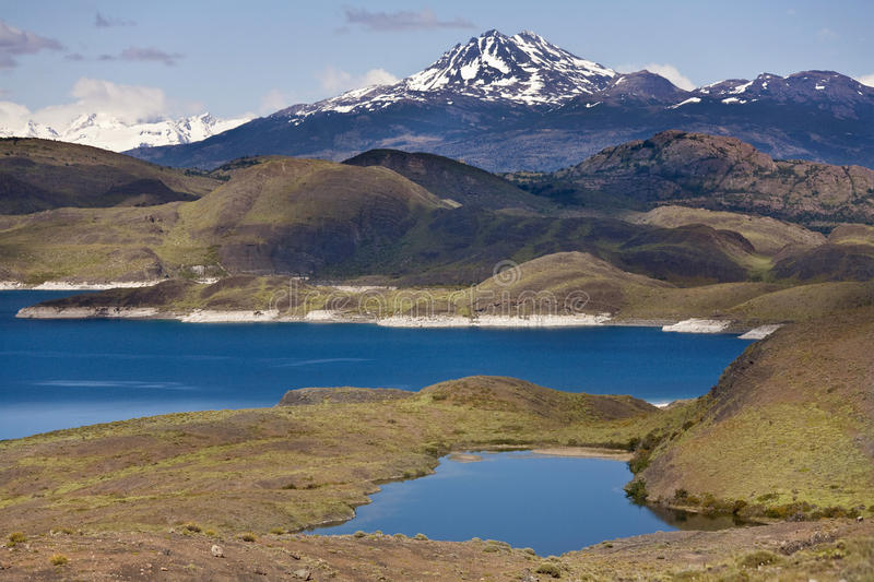 Torres Del Paine w Patagonia N.P - Chile obrazy stock