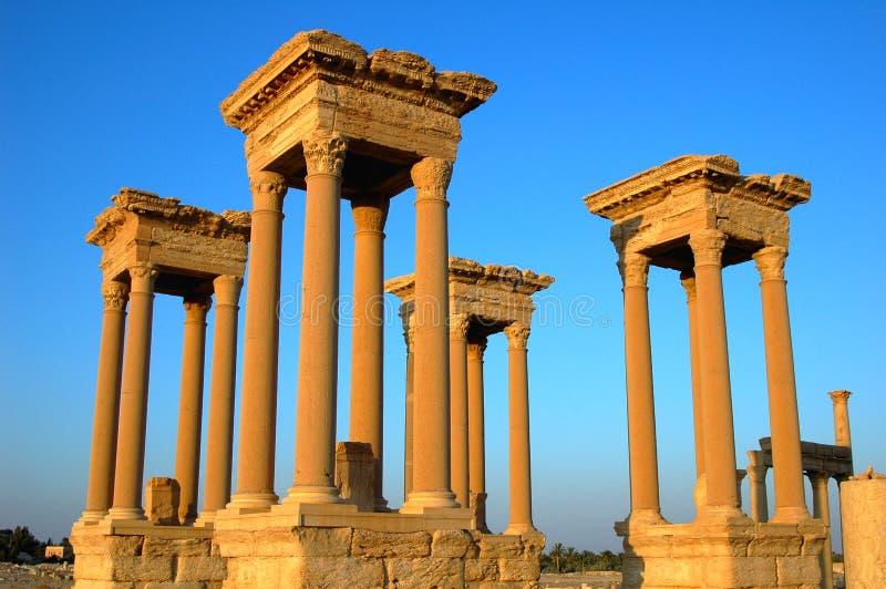 Torres del Palmyra fotografía de archivo libre de regalías