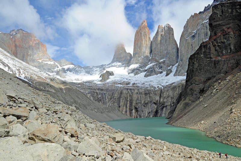 Torres del Payne, Chili photographie stock libre de droits