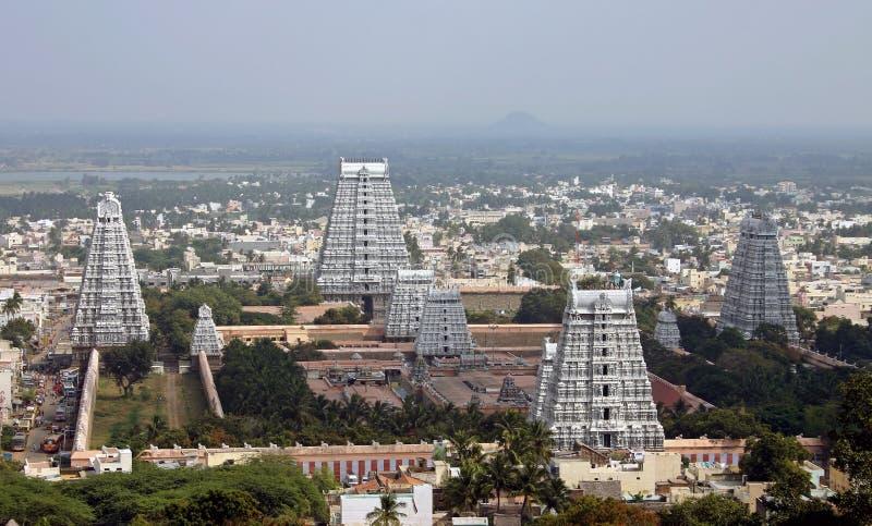 Torres del templo en la India fotografía de archivo libre de regalías