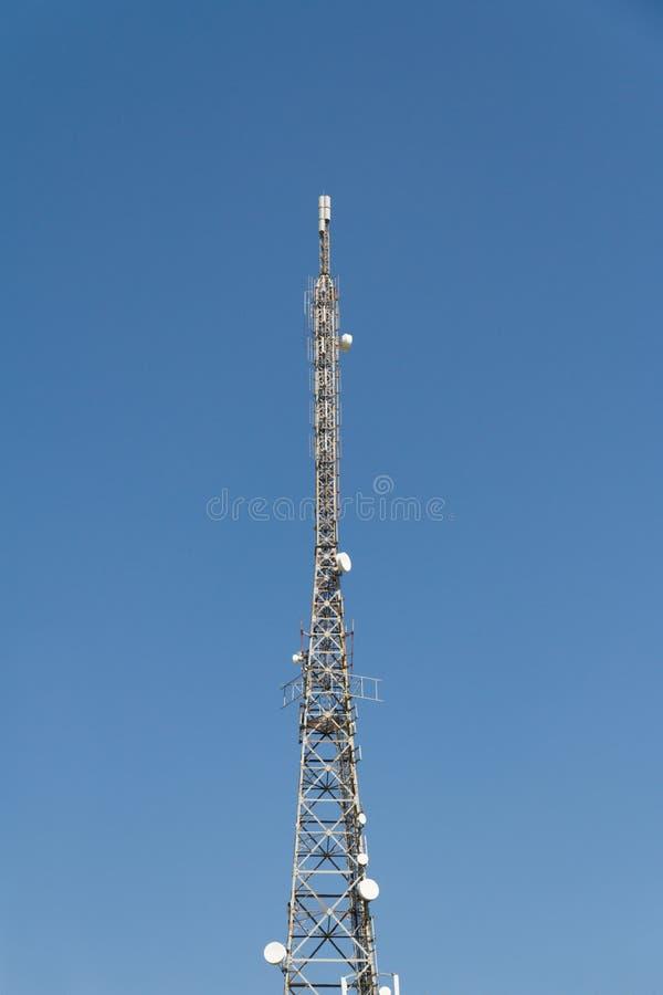 Torres del transmisor foto de archivo libre de regalías