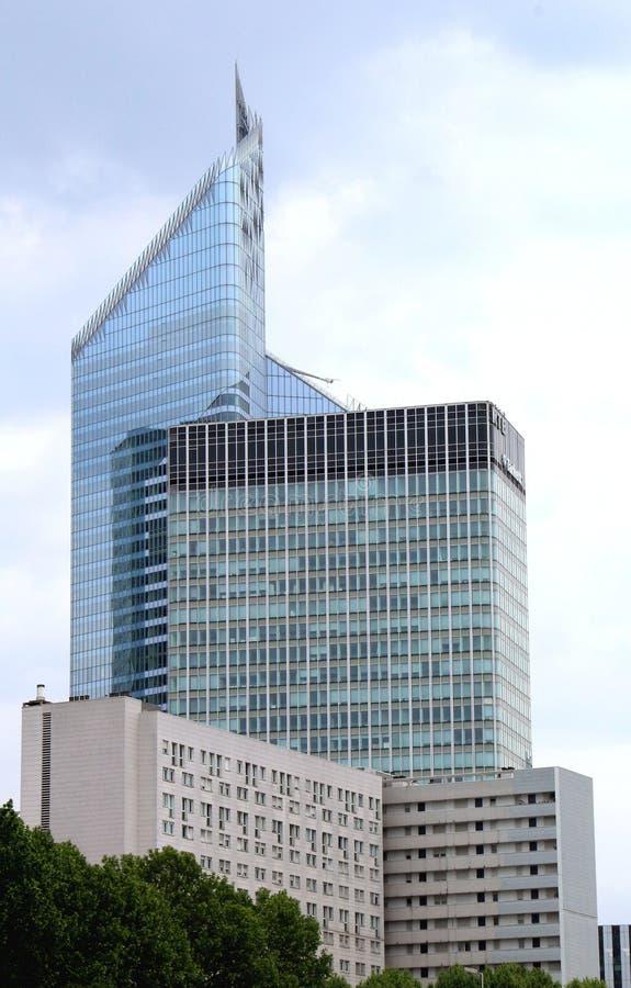 Torres do distrito da defesa foto de stock royalty free