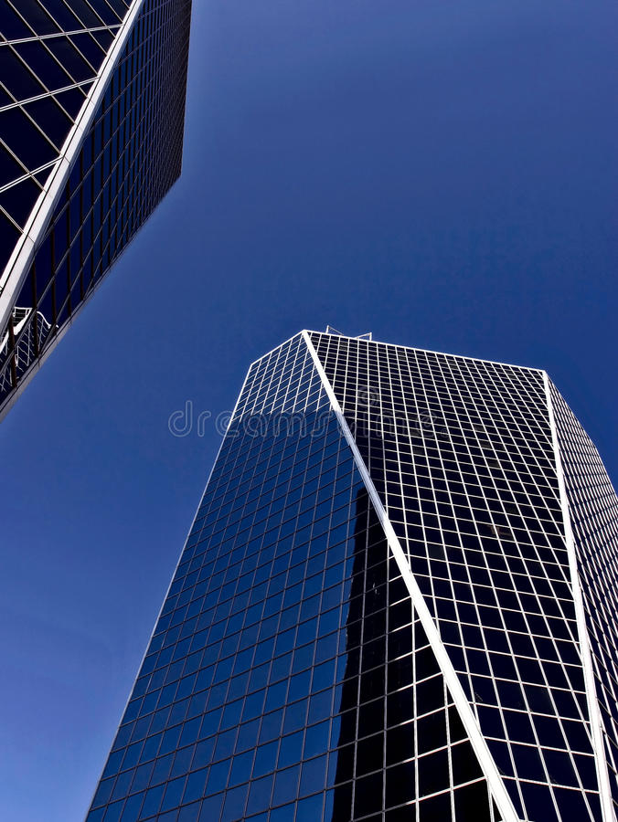 Torres do monte em Regina Saskatchewan imagens de stock royalty free