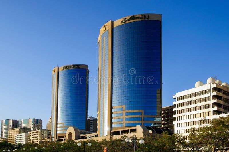 Torres do Tween em Dubai imagens de stock