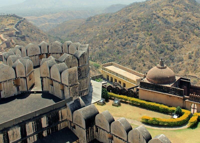 Torres en Kumbhalgarh imagen de archivo libre de regalías